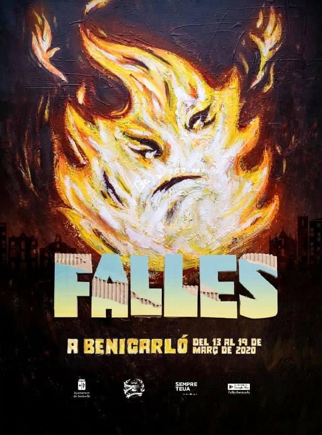 Les Falles de Benicarló presenten els seus esbossos i el cartell anunciador per al 2020