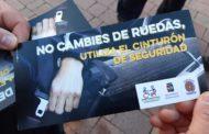 Benicarló posa en marxa la campanya de sensibilització «Posa't el cinturó»