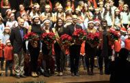 Benicarló; Tradicional Concert de Nadal de les corals Bovalar, Petiquillo, Kylix i Polifònica Benicarlanda a l'Auditori Pedro Mercader 21-12-2019