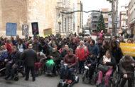 Benicarlo; Lectura del manifest institucional amb motiu del Dia Internacional dels Drets de les Persones amb Discapacitat