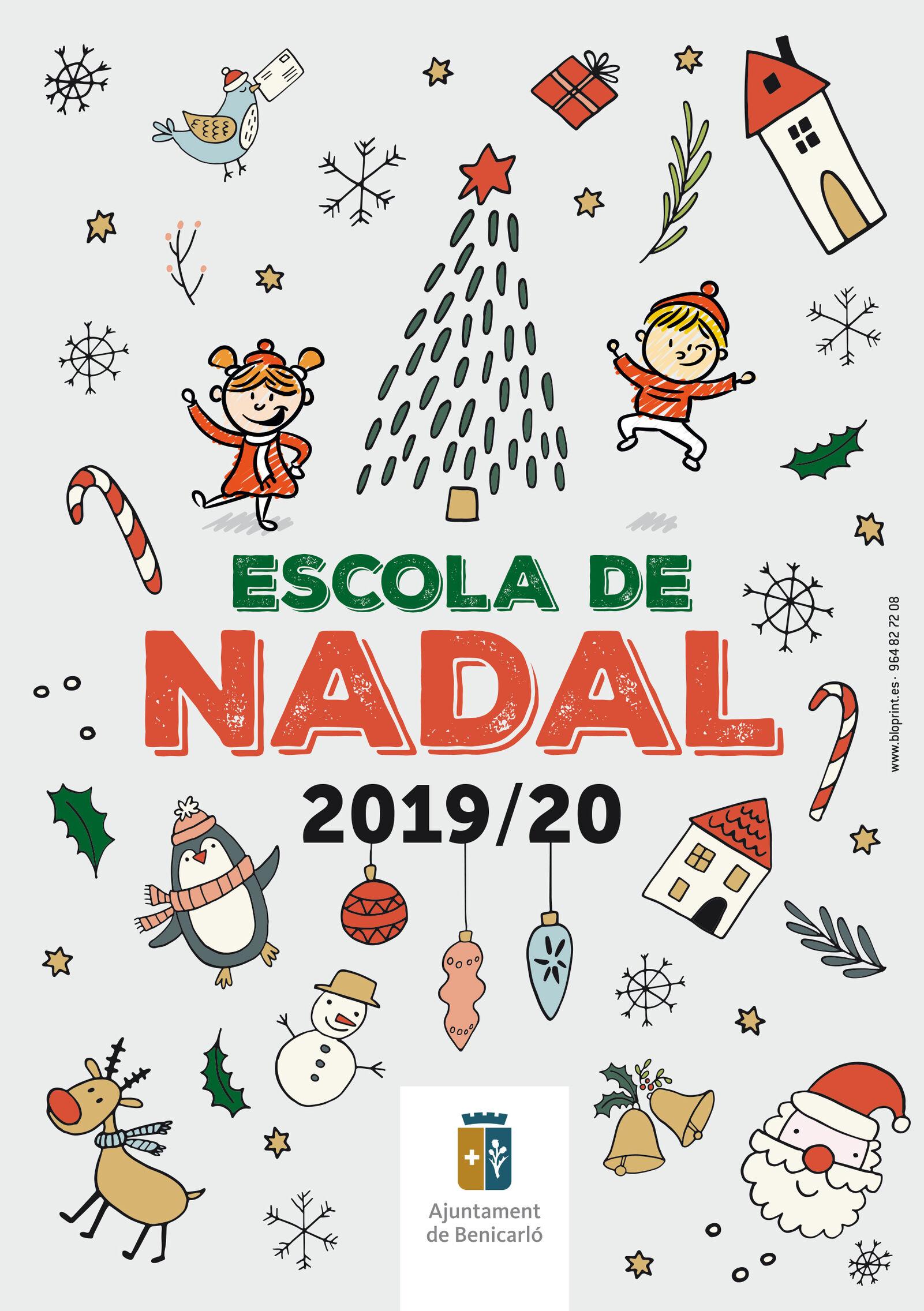Benicarló; Torna l'Escola de Nadal, per tal de conciliar la vida familiar i laboral