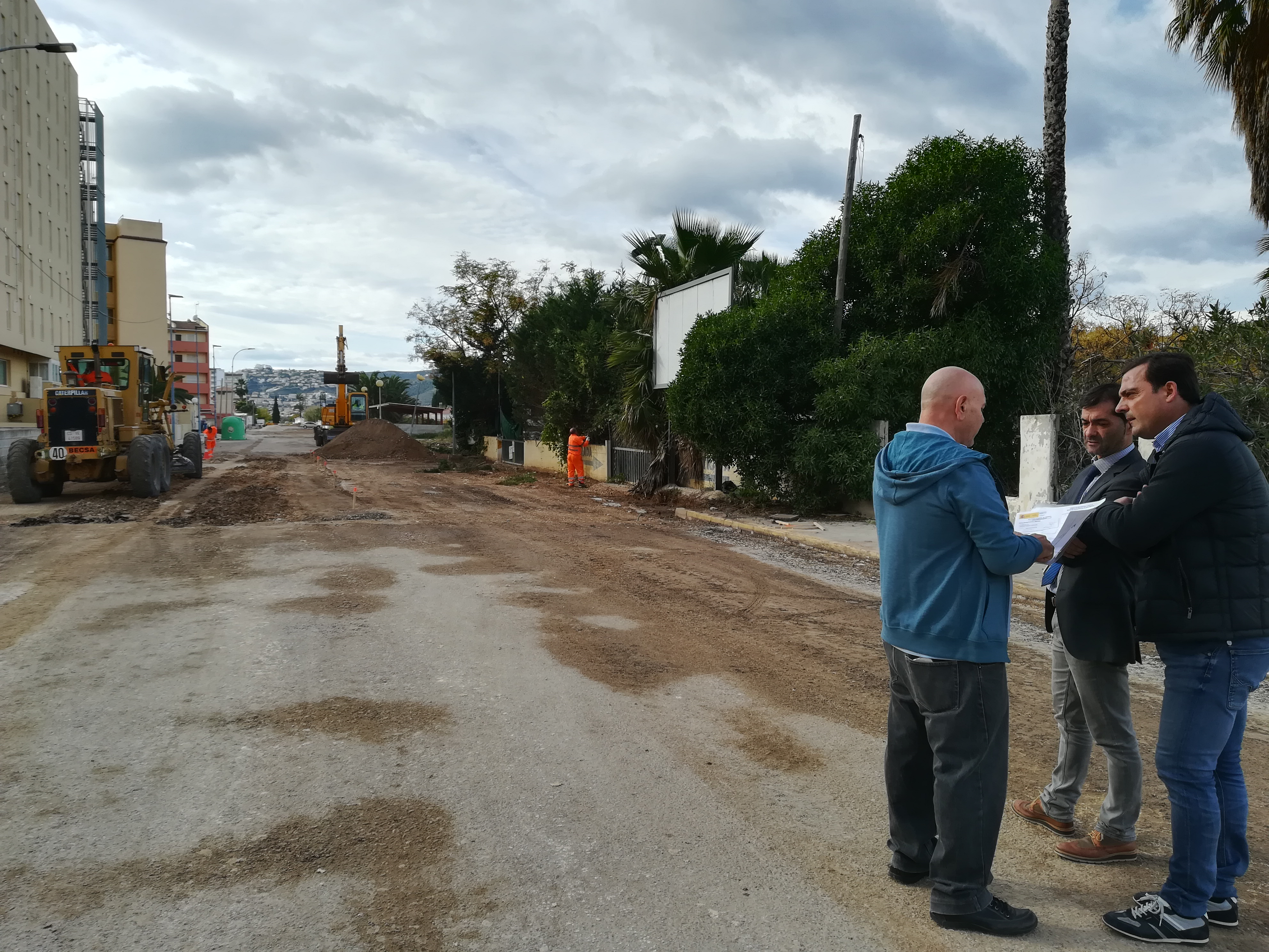 Peníscola; L'àrea d'Urbanisme de l'Ajuntament de Peníscola ha iniciat les obres d'asfaltat de la N-19