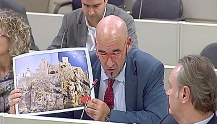 Compromís ja va reclamar el Senat un estudi sobre el penya-segat del Castell de Peníscola