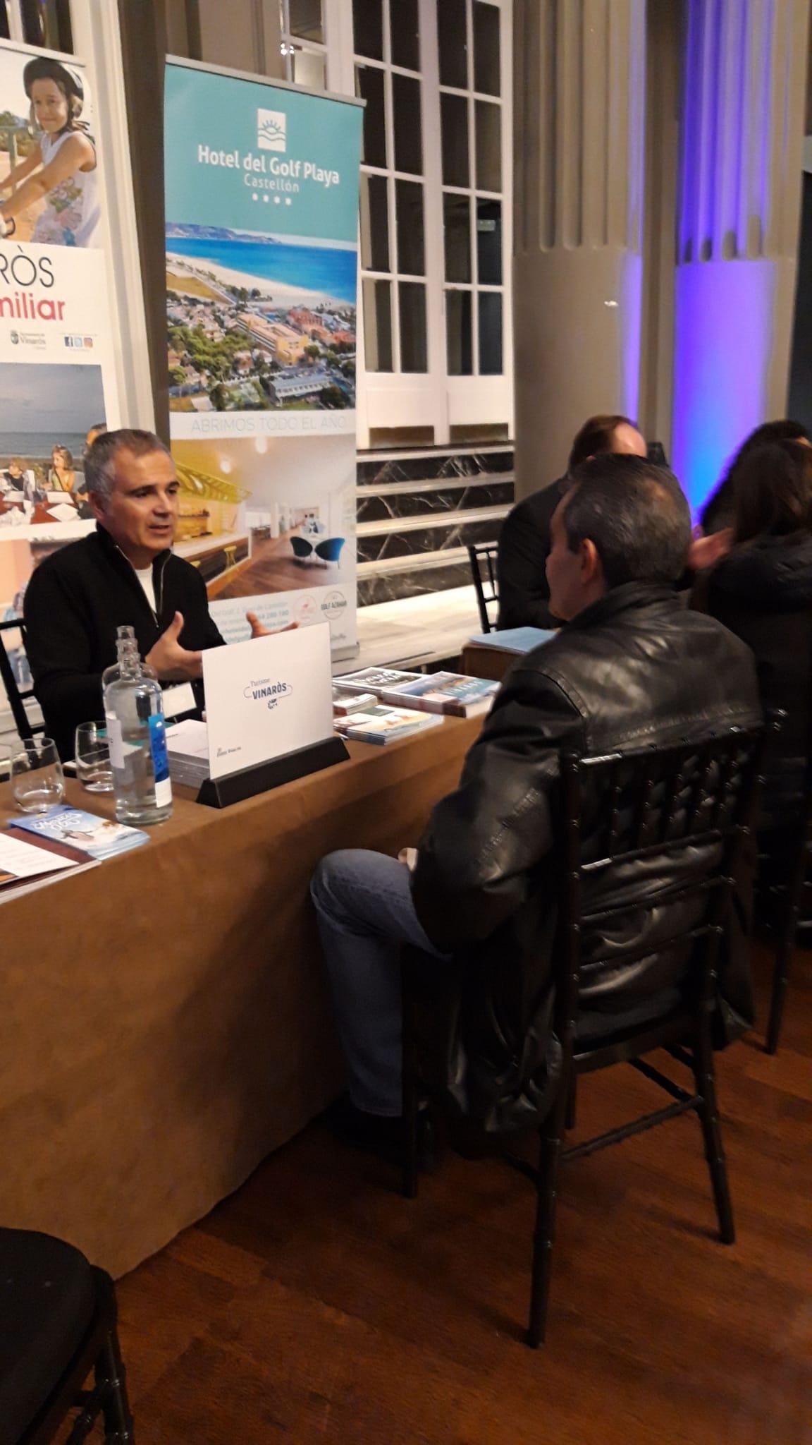 Vinaròs participa a Saragossa en la presentació del producte Tour & Kids