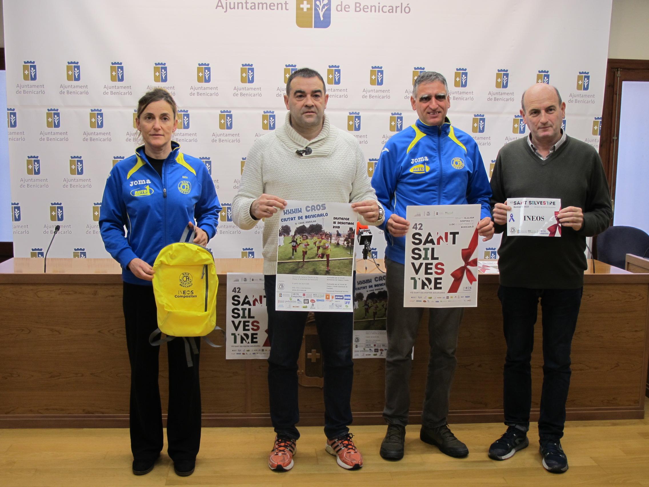Benicarló tanca l'any esportiu amb la Sant Silvestre i el Cros Ciutat de Benicarló
