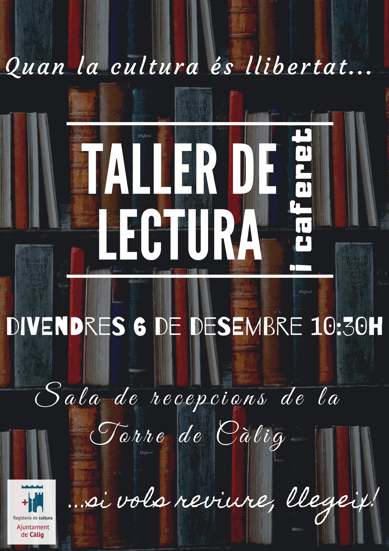 La Torre de Càlig acull un taller de lectura