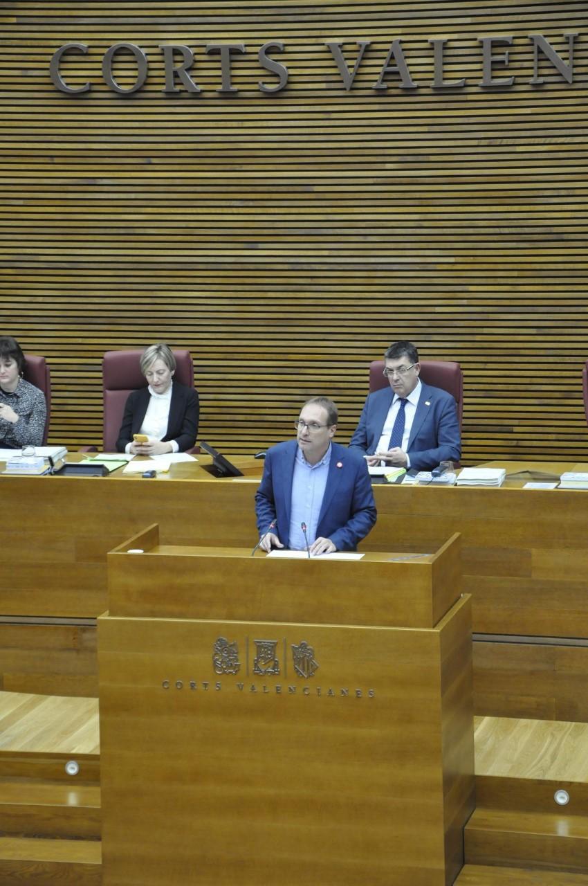 """Blanch: """"Els pressupostos de la Generalitat garanteixen l'estabilitat social i econòmica per a Castelló"""""""