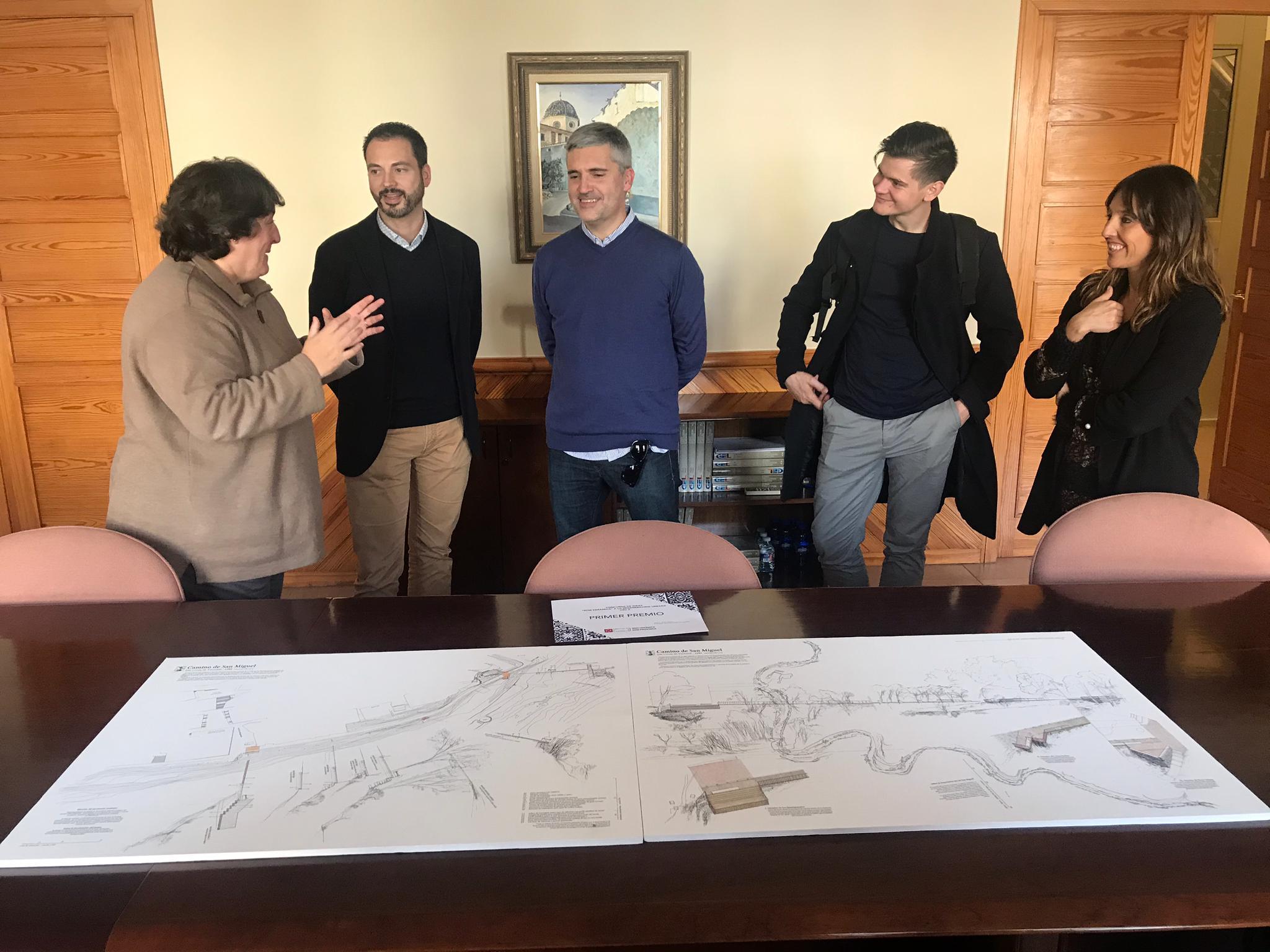 Coves; Les Coves de Vinromà començarà en 2020 amb el projecte premiat per Diputació per a reconvertir el Camí Nou en una ruta urbana verda