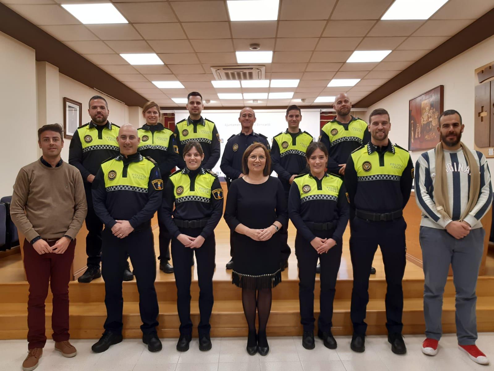 Nou agents s'incorporen al cos de la Policia Local de Benicarló