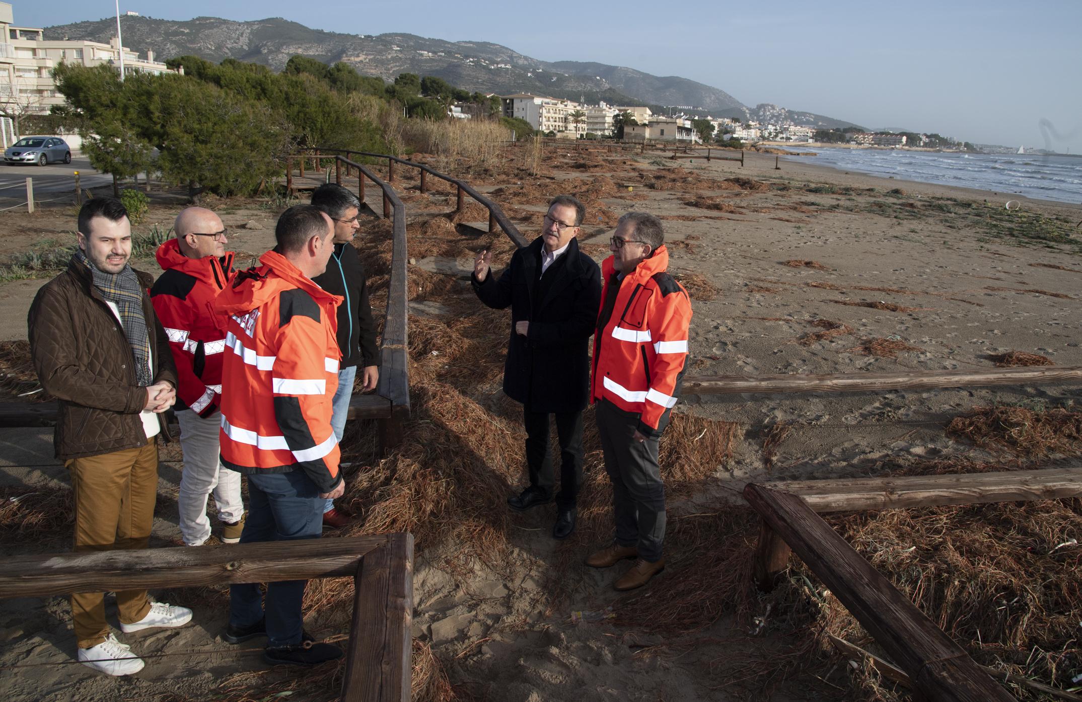 José Martí agraeix la professionalitat del Consorci de Bombers davant la resposta al temporal