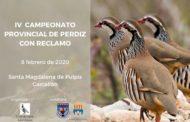 El club de Caça Sant Lázaro de Santa Magdalena organitza el IV Campionat provincial de caça de perdiu amb reclam