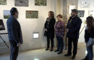 Benicarló; Inauguració de l'exposició de fotos i dibuixos de la Festa de la Carxofa, a càrrec de José María Martín Nieto i el col·lectiu Urban Sketchers 22-01-20