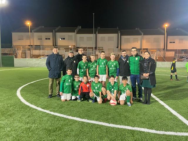 Sant Mateu estrena les obres de renovació i millora de les instal·lacions del camp de futbol