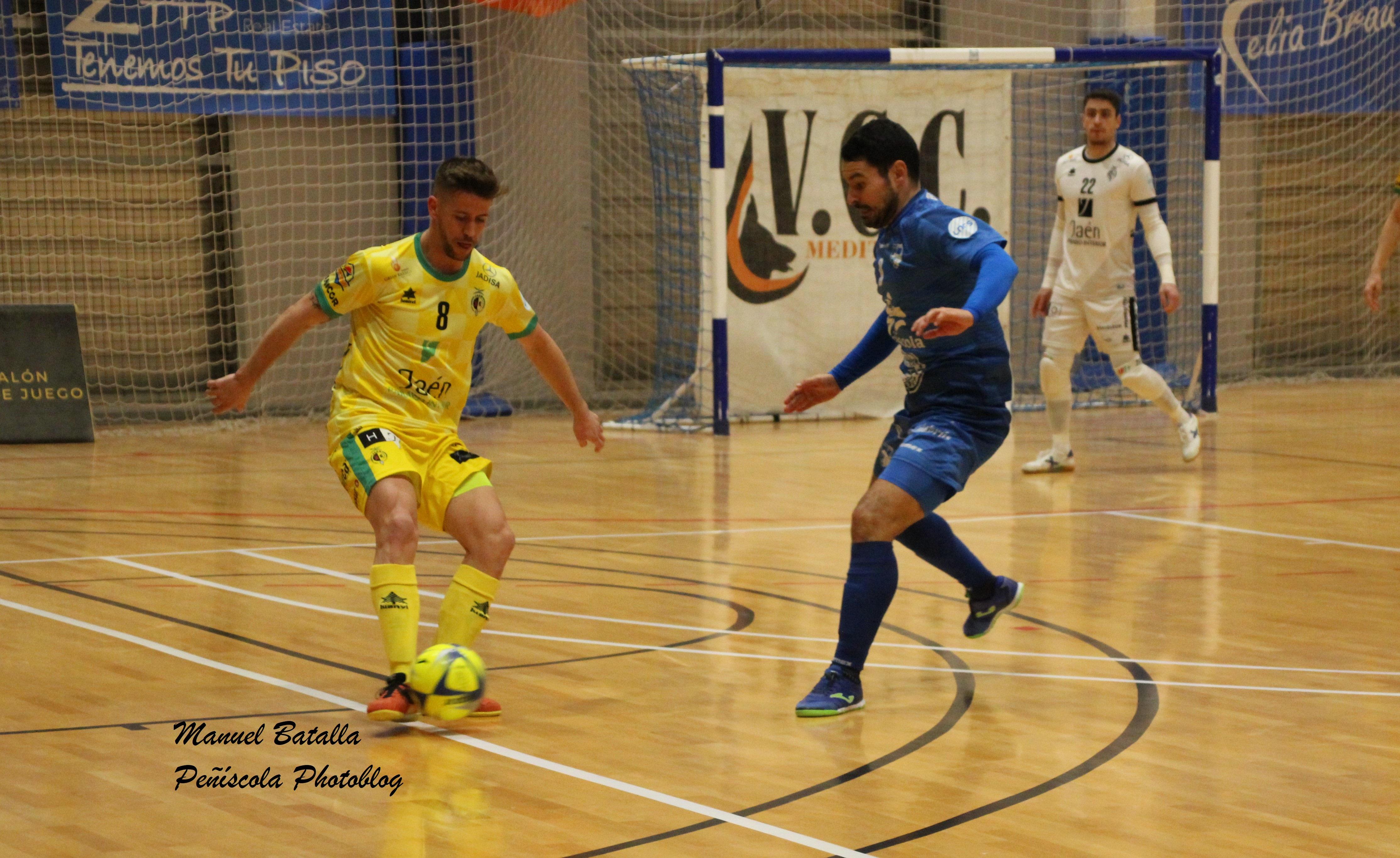Al Servigroup Peníscola se li escapa la victòria en l'últim minut (3-3)