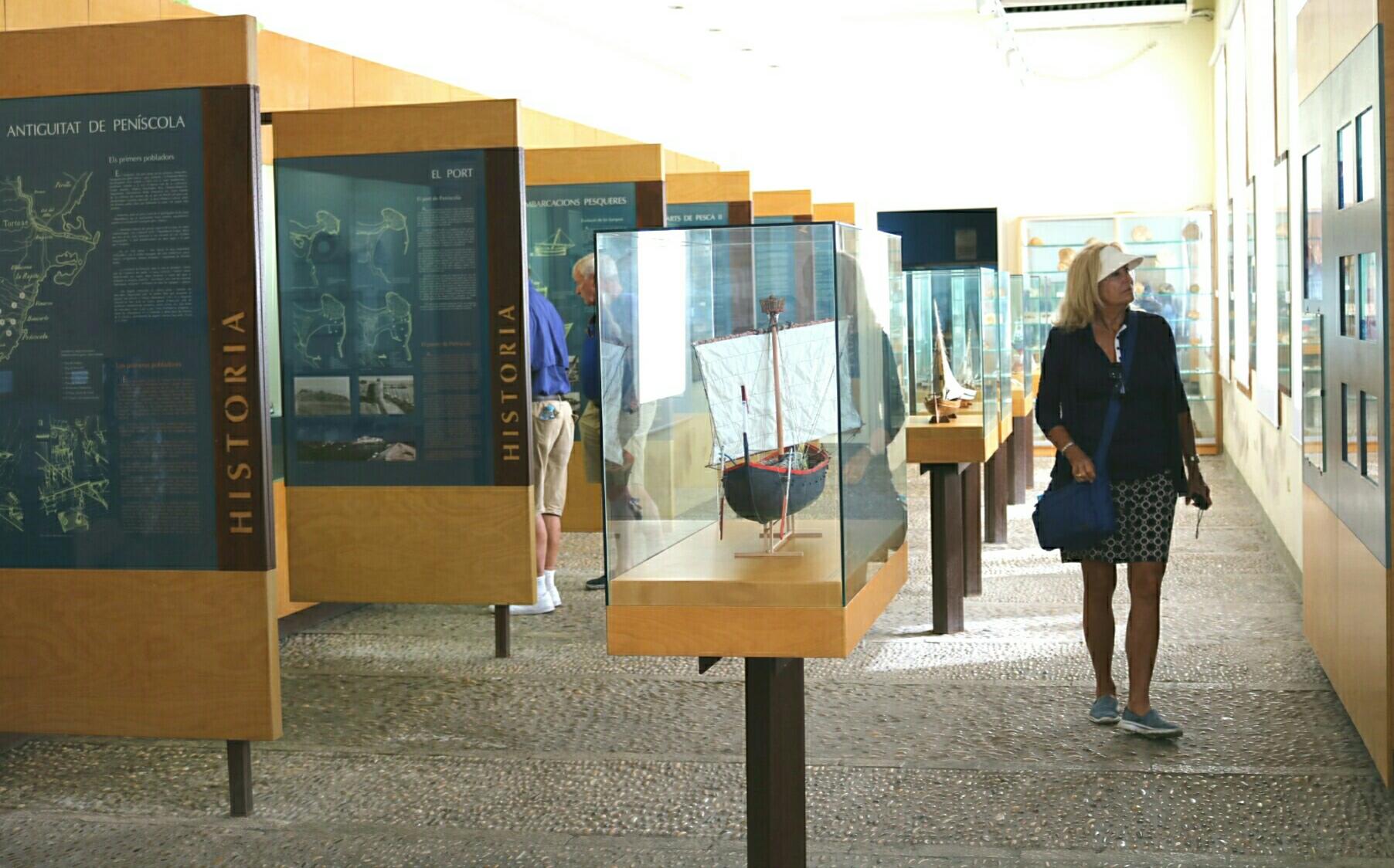 El Museu de la Mar de Peníscola suma més de 70.000 visitants el 2019
