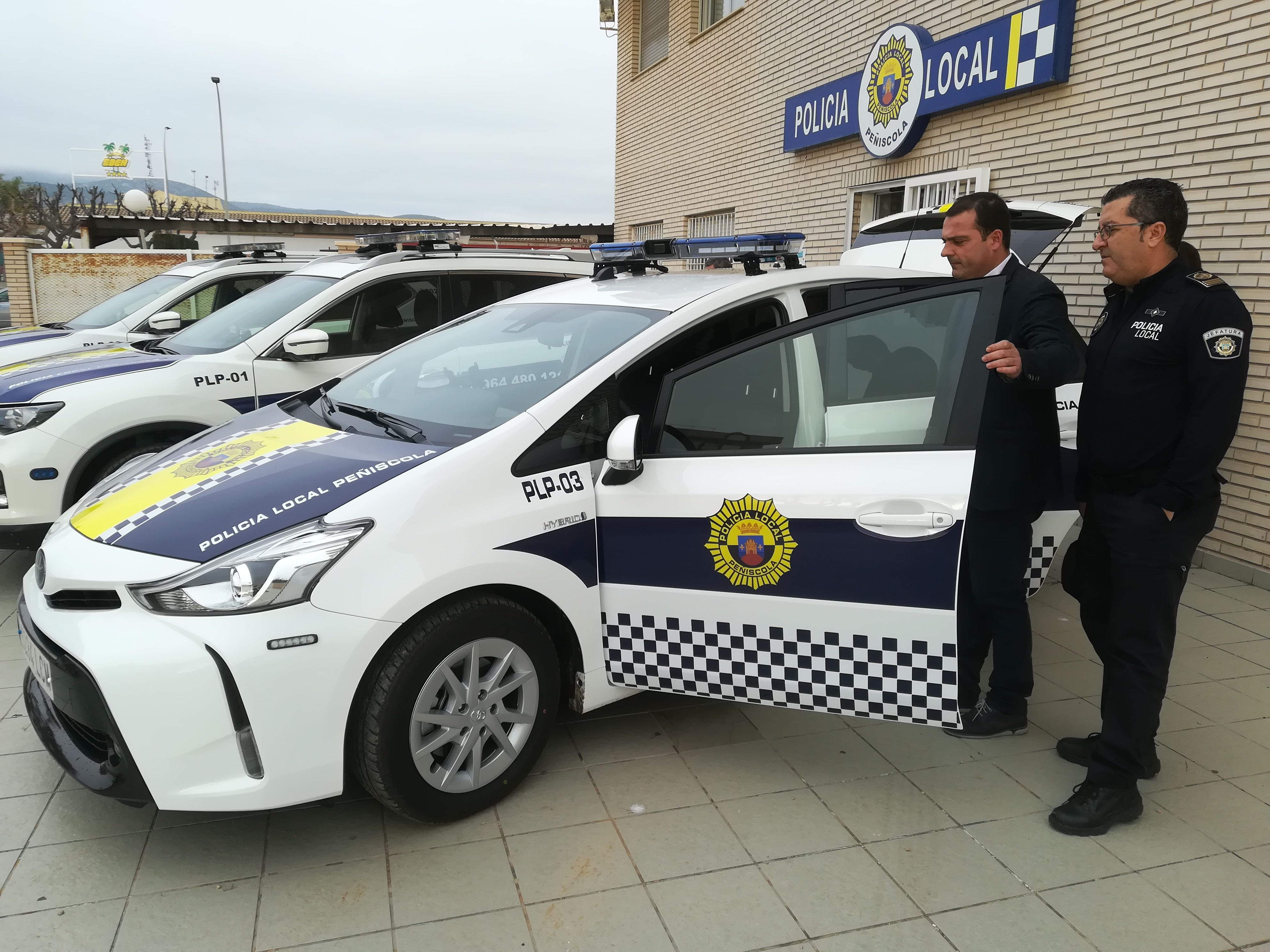 La Policia Local de Peníscola es compromet amb el programa ECO-POL i ha adquirit el seu primer vehicle híbrid