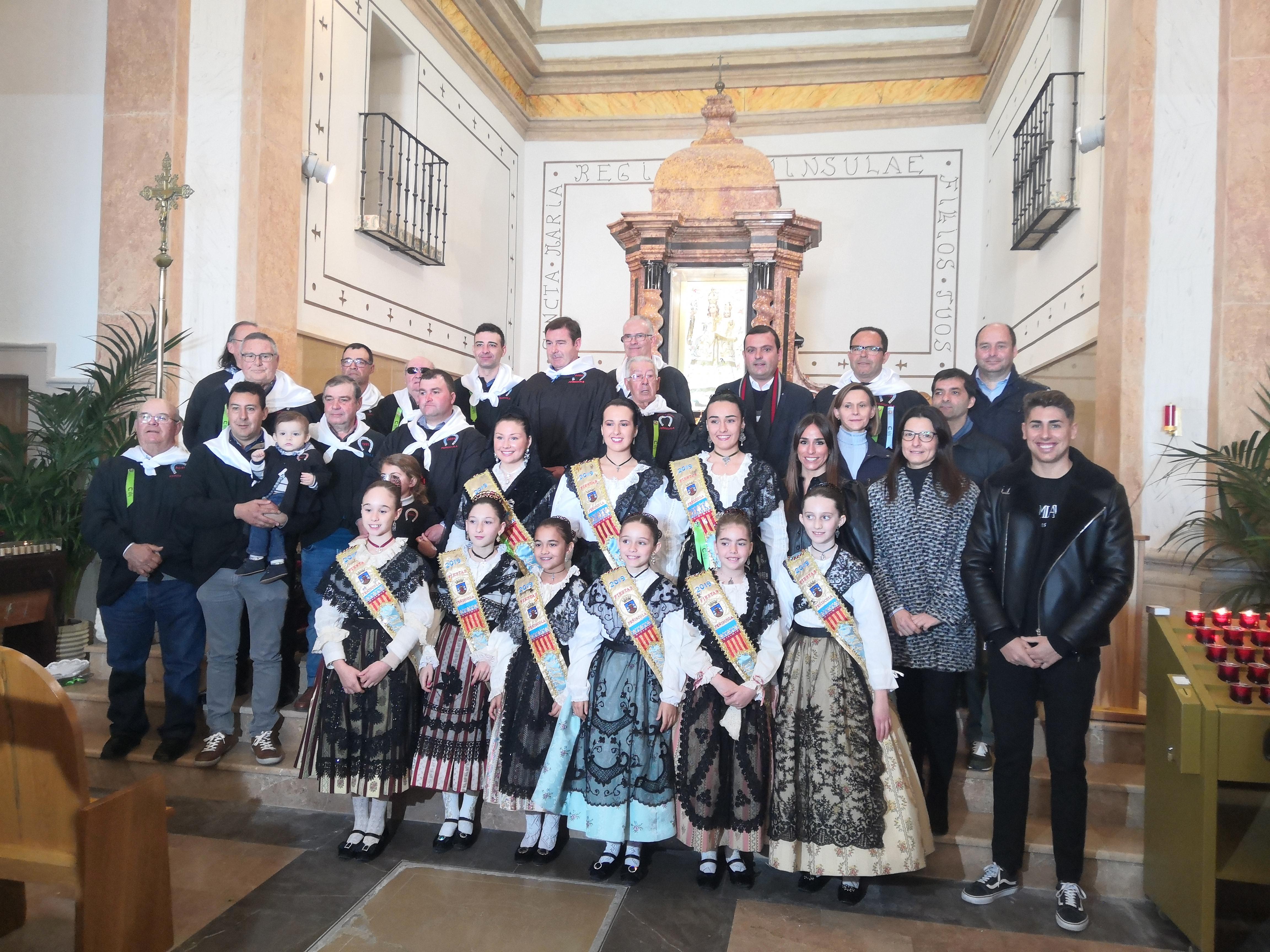 Peníscola celebra la festivitat del dia de Sant Antoni Abat