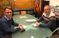 El regidor Chaler es reuneix amb el director General de l'Esport de la Generalitat