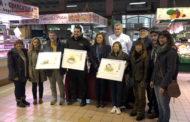 Benicarló; Entrega dels Premis al pinxo més etxurat (Urban  Sketchers) al Mercat Municipal de Benicarló