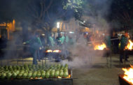 Benicarló; Torrà popular de carxofes a la plaça Constitució de Benicarló 25-01-2020
