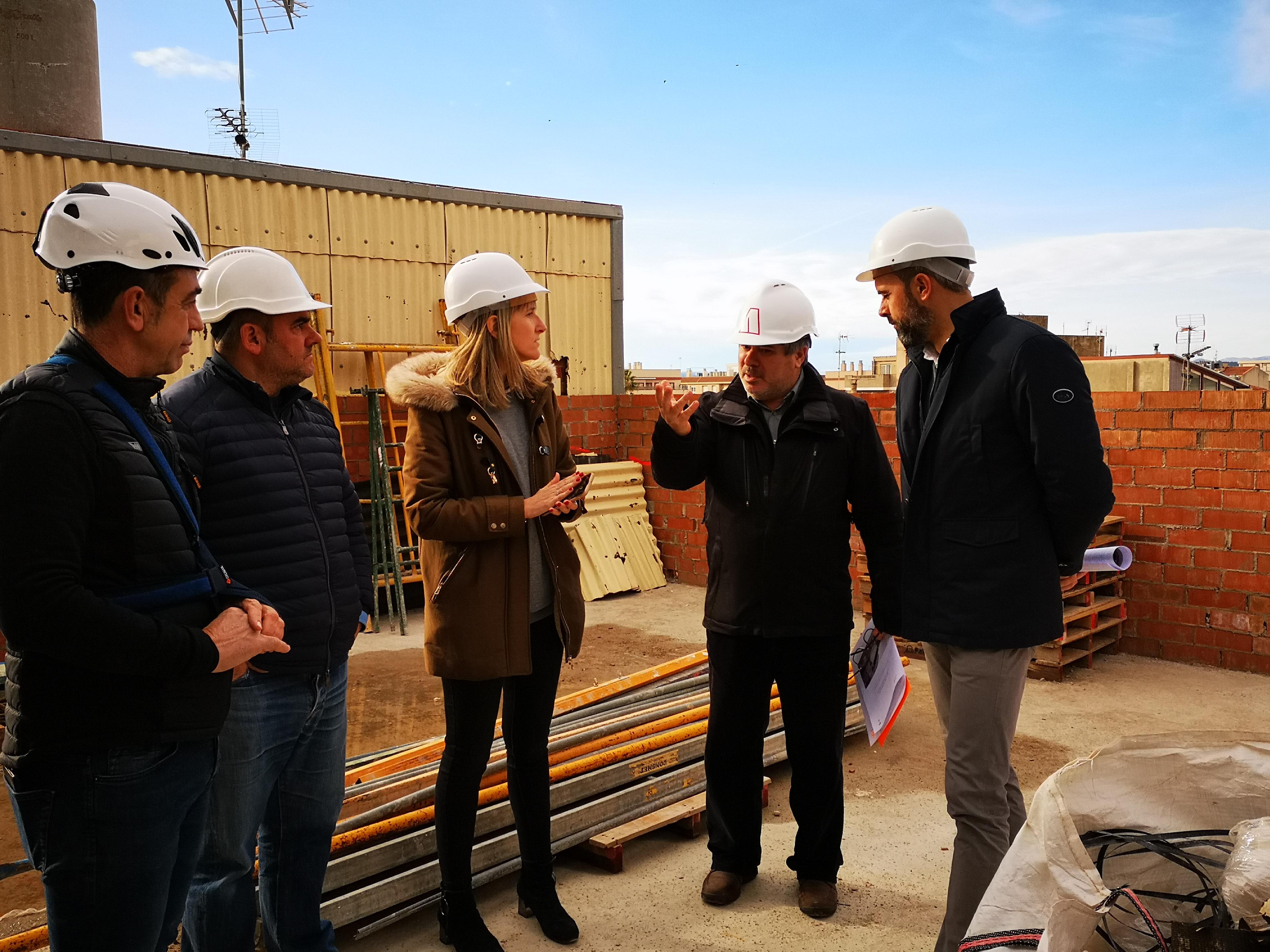 """Ivette Fibla: """"Està previst que les obres de l'auditori d'Alcanar acaben el primer trimestre de 2021"""""""