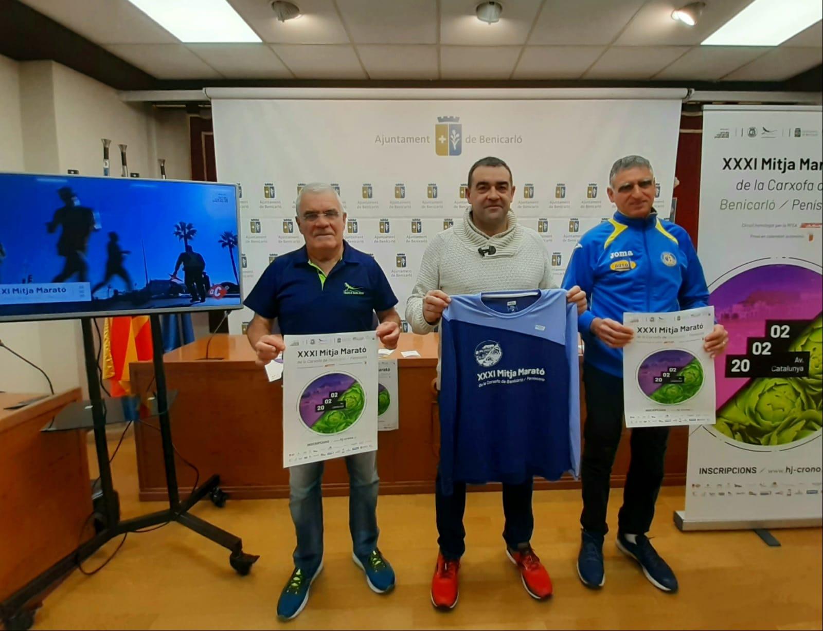 La Mitja Marató de la Carxofa Benicarló - Peníscola s'inclou dins del Circuit de Mitges Maratons de la Diputació