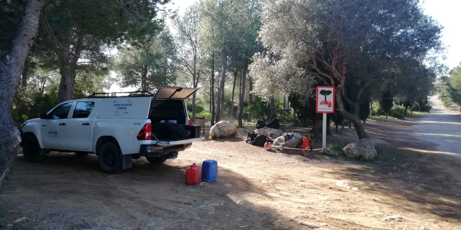 La Conselleria d'Agricultura, Desenvolupament Rural, Emergència Climàtica i Transició Ecològica està realitzant treballs de neteja a la Basseta del Bovalar de Benicarló