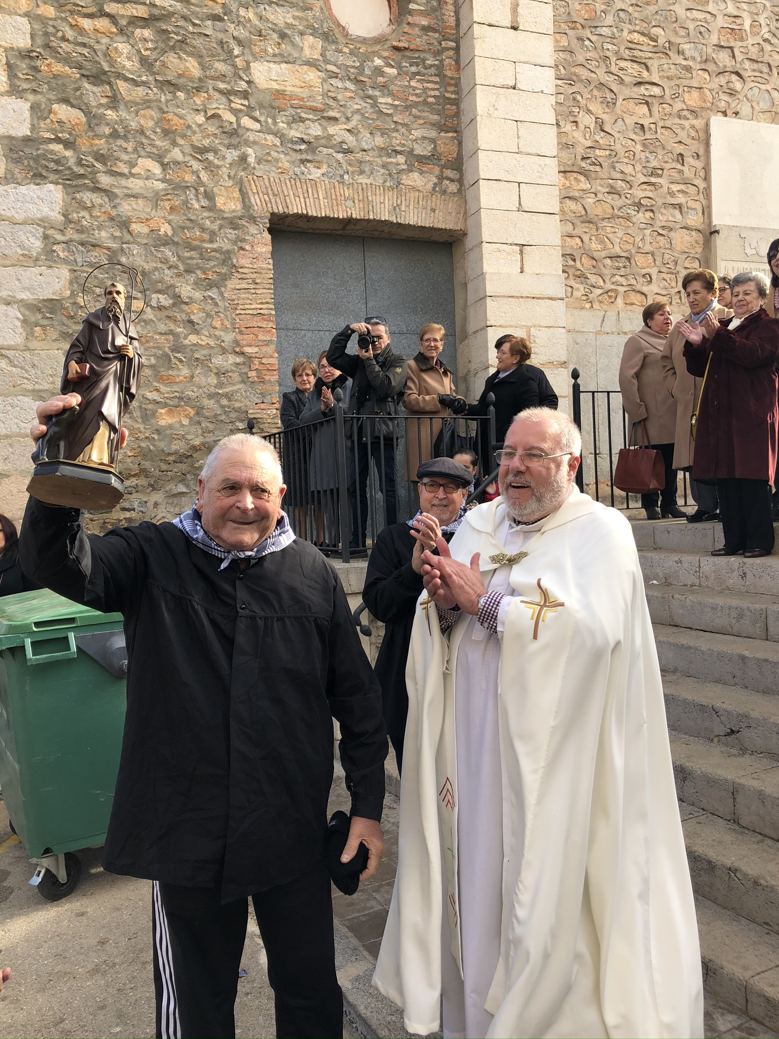 Santa Magdalena celebra de forma multitudinària Sant Antoni