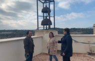 Finalitzen els treballs de reforma dels merlets de la Torre de Càlig