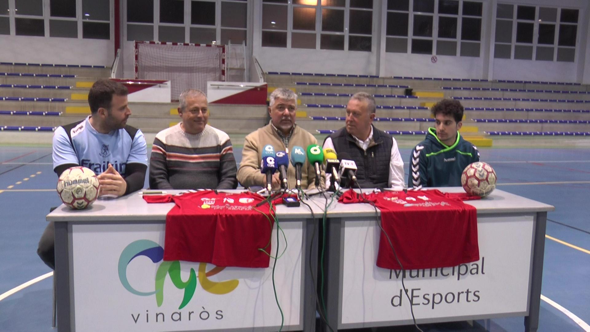 El Sènior Masculí del Club Balonmano Vinaròs fitxa a Marc González com a entrenador i a Mateu Castella com a jugador
