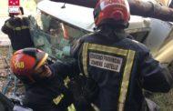 Tres ferits en un accident de trànsit a La Pobla Tornesa