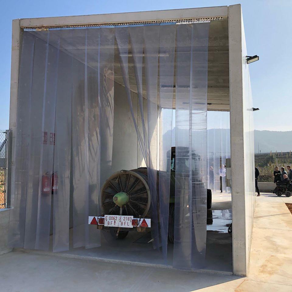 Alcalà de Xivert inaugura un rentador municipal de maquinària agrícola