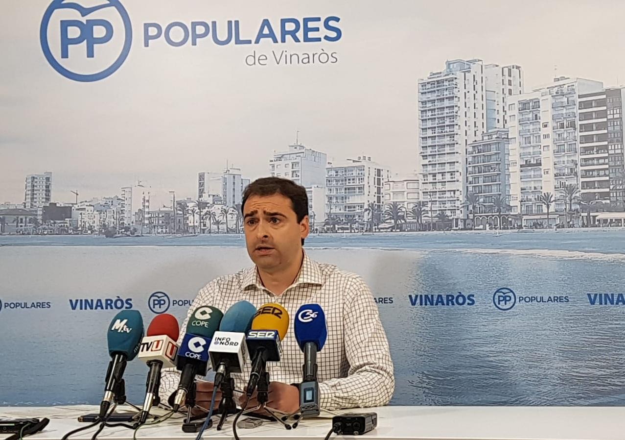 La inversió del Ministeri a Vinaròs no arriba ni al 20% dels danys ocasionats pel temporal Glòria segons el PP