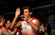 El jugador Álvaro Gómez del C.B. Benicarló s'acomiada de la temporada per una greu lesió