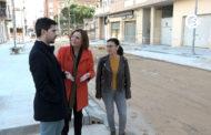 Benicarló; Visita a les obres d'urbanització del carrer València de Benicarló 27-02-2020