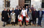 José Martí i Ruth Sanz gaudeixen amb la primera gran desfilada del Carnaval de Vinaròs