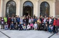 Els alumnes del col·legi Felicinda Collell de Càlig visiten la Diputació de Castelló