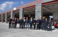 Benicarló; Visita del president de la Diputació al parc de bombers de Benicarló 06-02-2020