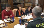 Benicarló; Roda de premsa posterior a la Junta de Seguretat de Falles 27-02-2020