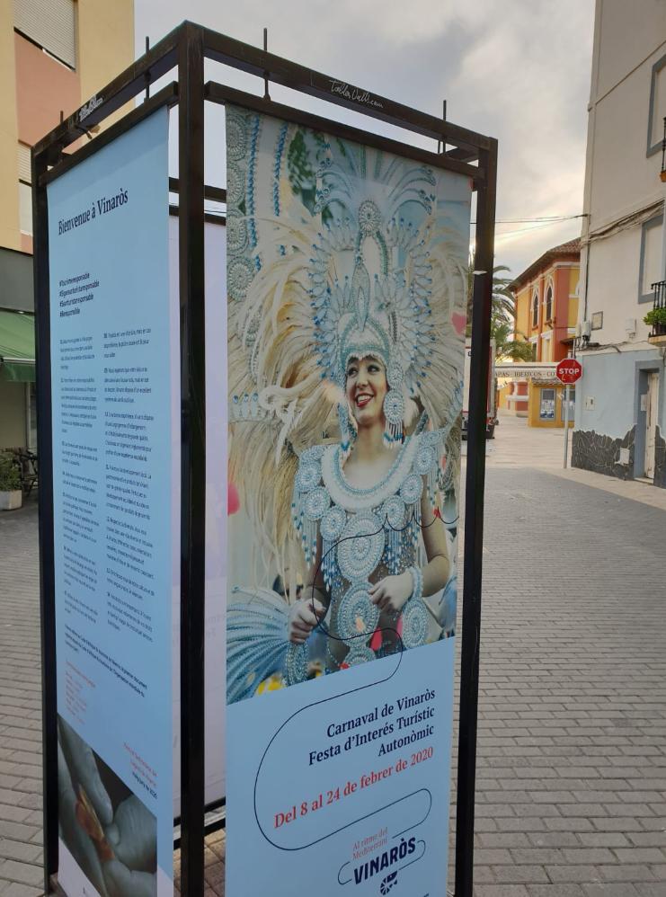 Vinaròs dona la benvinguda als visitants del Carnaval i Setmana Santa amb la campanya #Beresponsible
