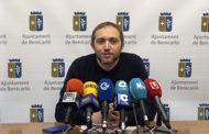 Benicarló; Roda de premsa del regidor de Festes i Falles de l'Ajuntament de Benicarló 05-02-2020