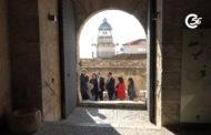 Peníscola; El president de la Diputació visita les últimes actuacions realitzades al Castell de Peníscola