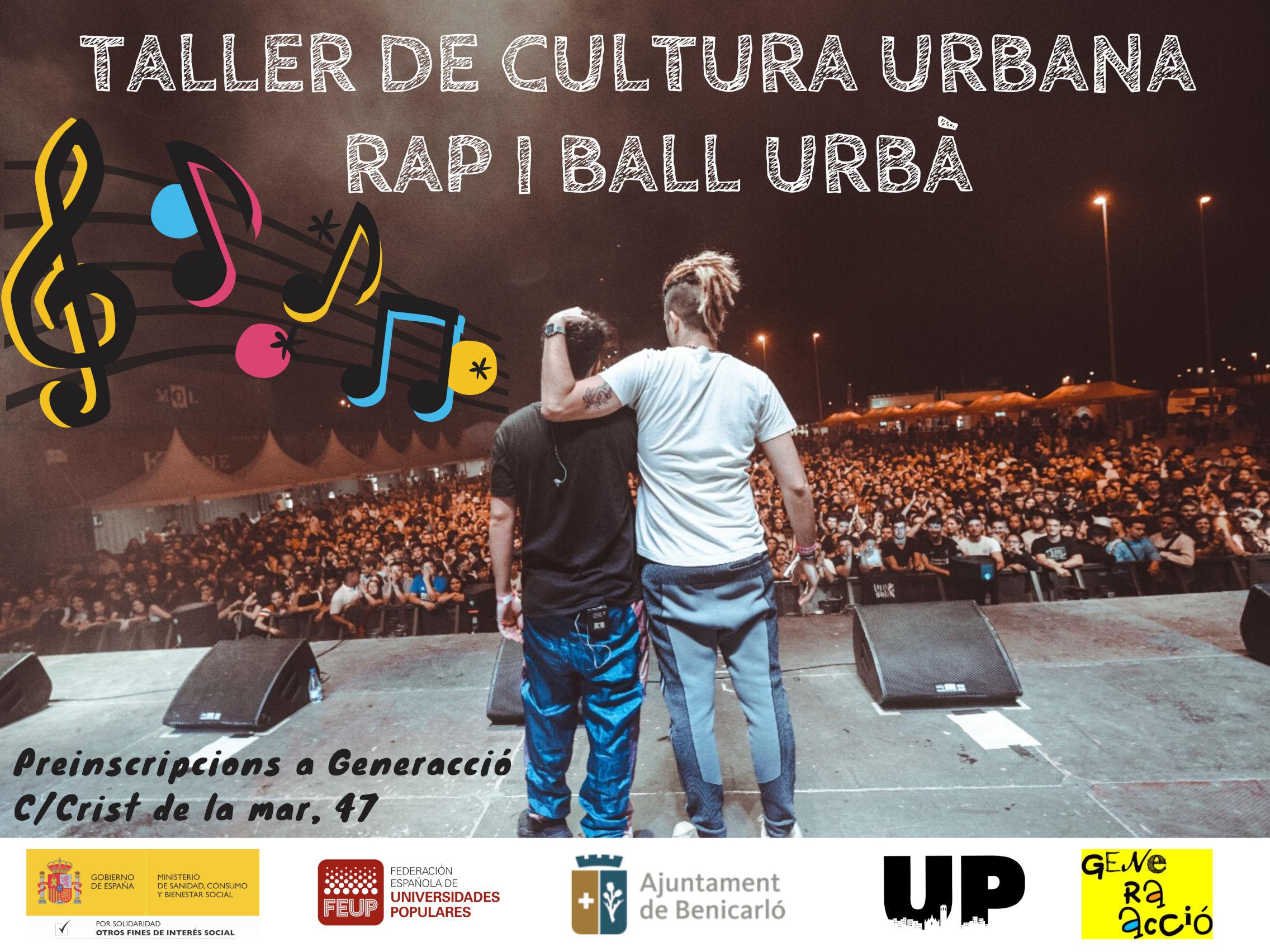 Benicarló organitza un taller de cultura urbana per a joves i adolescents