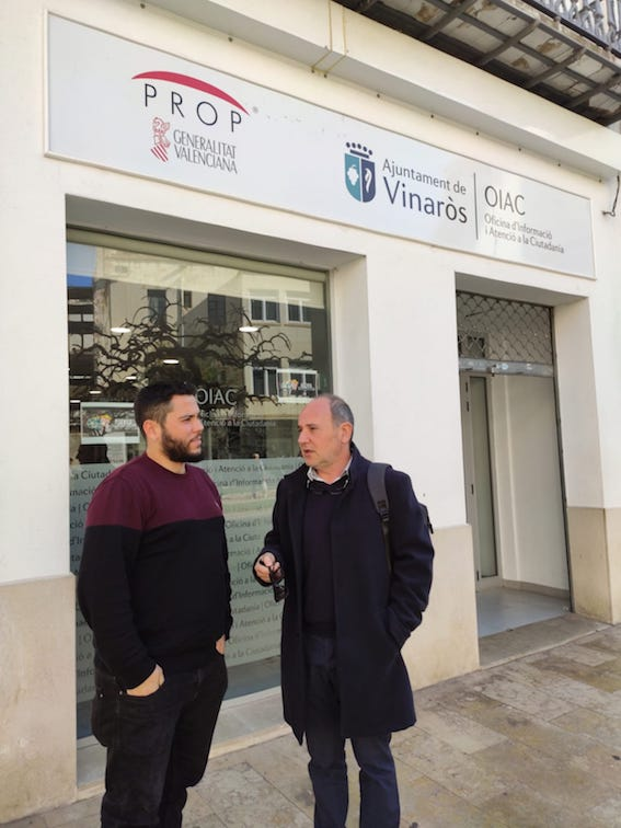 L'Ajuntament de Vinaròs activa el servei de cita prèvia per a l'OIAC