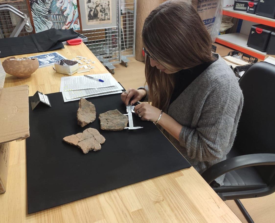 El Museu de la Ciutat de Benicarló ja treballa amb les peces del jaciment del Mas de Fabra