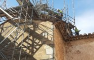 Les obres de restauració de la capella de la comunió de l'església de Sant Miquel de Canet lo Roig ja estan en marxa