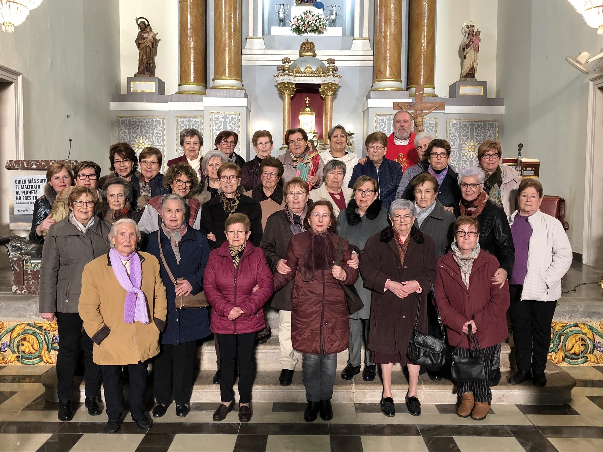 L'Associació de Mestresses de casa de Santa Magdalena celebra Santa Àgueda