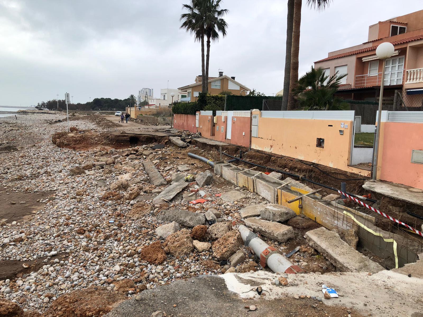 Costes destinarà 500.000€ per a reparar el litoral de Vinaròs