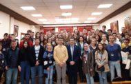 30 alumnes i professors de Polònia, Turquia i Portugal visiten l'Ajuntament de Benicarló