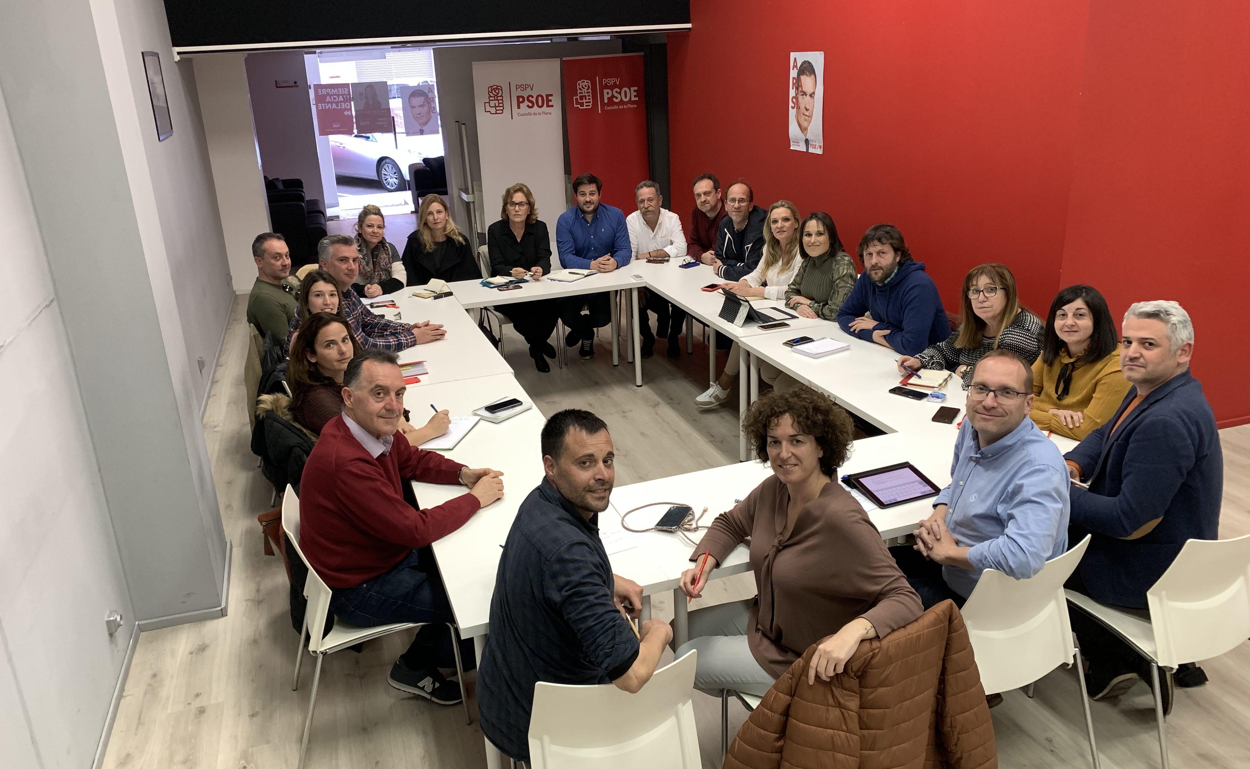El PSPV-PSOE provincial aprova una resolució per donar suport a les polítiques de protecció d'ocupació de Sánchez